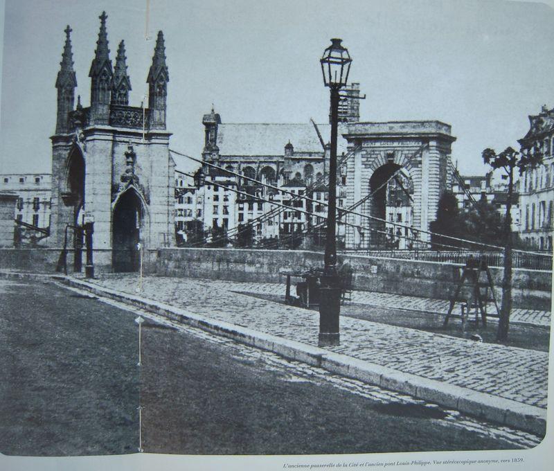 Pont st louis 1842 cadre