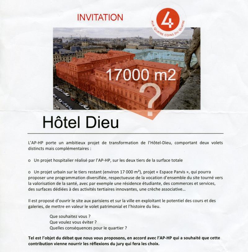 Invitation débat HD recadre